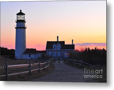Cape Cod Light Metal Print by Catherine Reusch  Daley