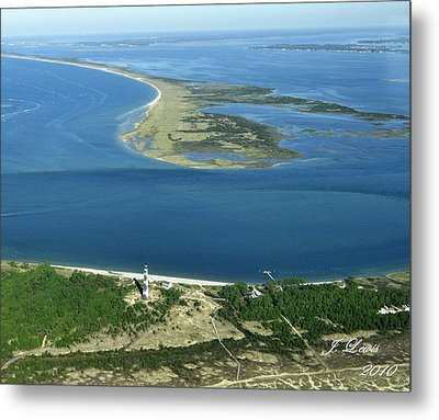 Cape Lookout Looking Down Shakleford Banks Metal Print by James Lewis