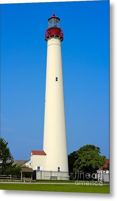 Cape May Lighthouse Metal Print by Anthony Sacco