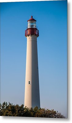 Cape May Lighthouse Metal Print by Jennifer Ancker
