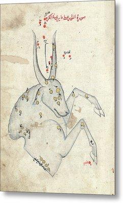 Capricornus Constellation Metal Print by Library Of Congress