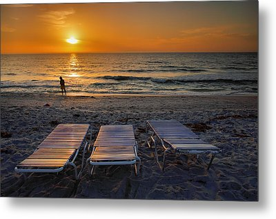 Captiva Sunset I Metal Print by Steven Ainsworth