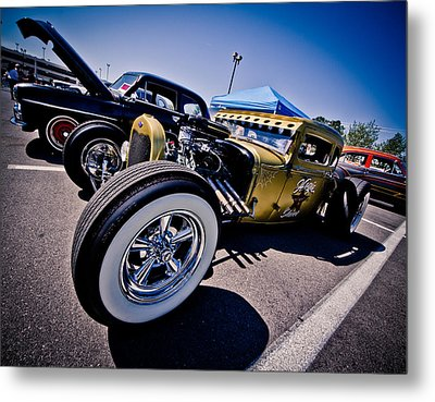 Car Candy Metal Print by Merrick Imagery