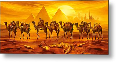 Caravan Metal Print by Jan Patrik Krasny