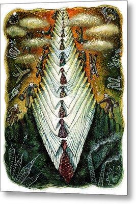 Career Metal Print by Leon Zernitsky