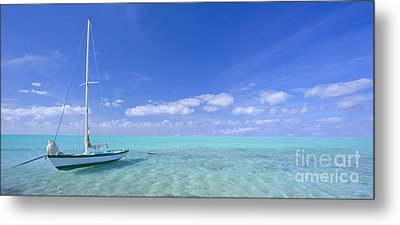 Caribbean Chill Time Metal Print by Marco Crupi