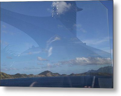 Caribbean Cruise - St Kitts - 1212109 Metal Print by DC Photographer
