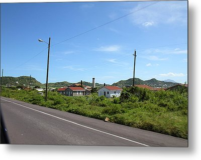 Caribbean Cruise - St Kitts - 121244 Metal Print by DC Photographer