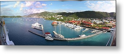 Caribbean Cruise - St Thomas - 12121 Metal Print by DC Photographer