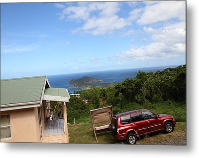 Caribbean Cruise - St Thomas - 1212172 Metal Print by DC Photographer