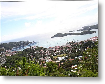Caribbean Cruise - St Thomas - 1212248 Metal Print by DC Photographer