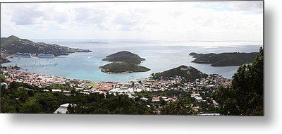 Caribbean Cruise - St Thomas - 12124 Metal Print by DC Photographer