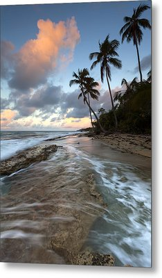 Caribbean Flow  Metal Print by Patrick Downey