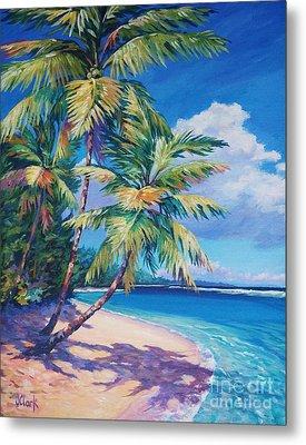 Caribbean Paradise Metal Print by John Clark