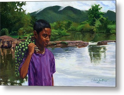 Caroni Chennette Metal Print by Colin Bootman