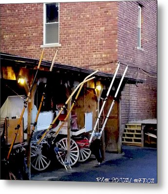 Carriage House  Metal Print by Marvin Washington