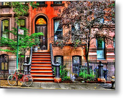 Carrie's Place - Sex And The City Metal Print by Randy Aveille