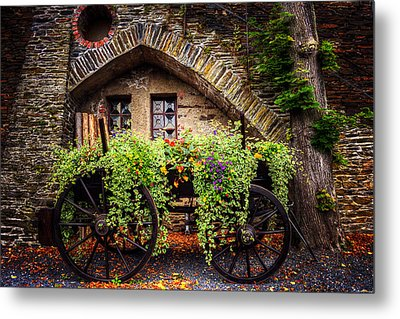 Cart Of Colors Metal Print by Ryan Wyckoff