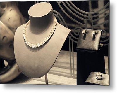 Cartier Jewelry Metal Print by Dan Sproul