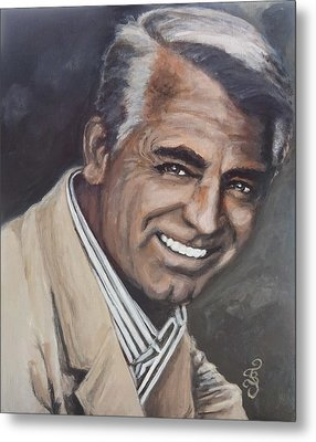 Cary Grant Metal Print by Shirl Theis