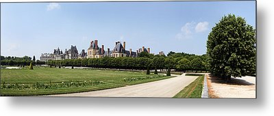 Castle, Chateau De Fontainebleau Metal Print by Panoramic Images