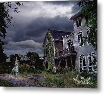 Castle House Metal Print by Tom Straub