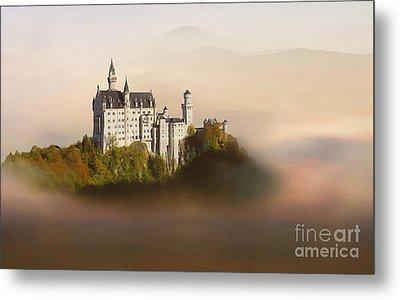 Castle In The Air Vi. - Neuschwanstein Castle Metal Print by Martin Dzurjanik