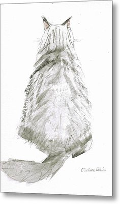 I'm All Ears Metal Print by Cathy Delnore Collins