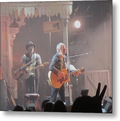 Cat Stevens Chicago Concert 2014 Peacetrain Metal Print by Todd Sherlock