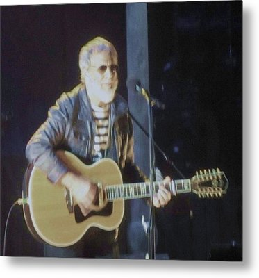 Cat Stevens Chicago Theatre 2014 Metal Print by Todd Sherlock