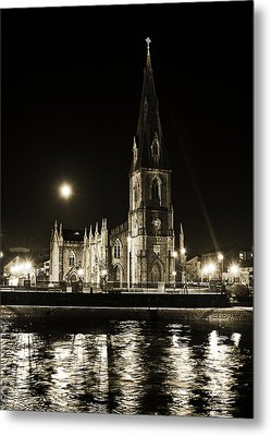 Cathedral At Nine Fifteen Metal Print by Tony Reddington
