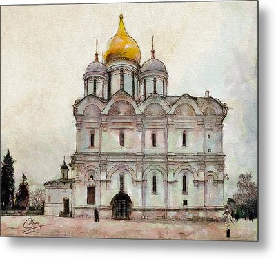 Cathedral Of The Archangel Metal Print by Greg Collins