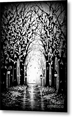 Cathedral Park Metal Print by Janine Riley