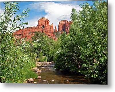 Cathedral Point - Sedona Arizona Metal Print by Gregory Ballos