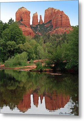 Cathedral Rock 1 Metal Print by Ellen Henneke