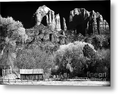 Cathedral Rock Metal Print by John Rizzuto