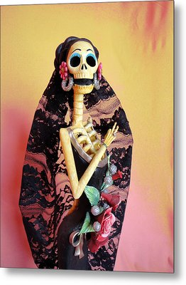 Catrina So Elegant Metal Print by Sandra Lewis