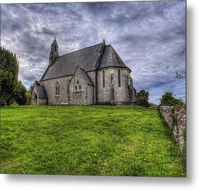 Cefn Meiriadog Parish Church Metal Print by Ian Mitchell