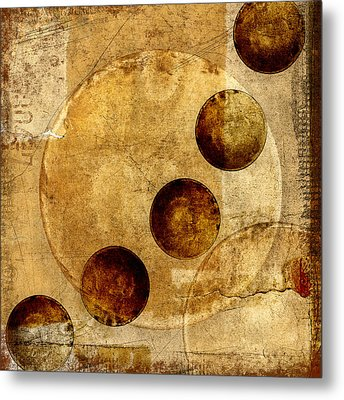 Celestial Spheres Metal Print by Carol Leigh