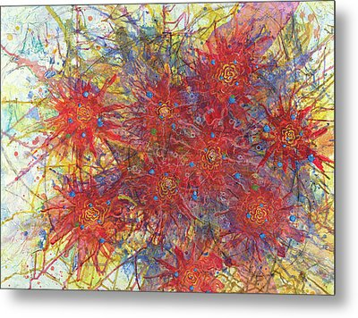 Cell No.11 Metal Print by Angela Canada-Hopkins