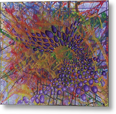 Cell No.8 Metal Print by Angela Canada-Hopkins