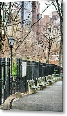 Central Park Metal Print by JC Findley