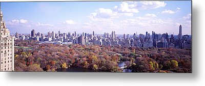 Central Park, Nyc, New York City, New Metal Print by Panoramic Images