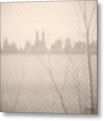 Central Park Reservoir Metal Print by Beverly Brown