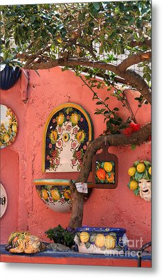 Ceramics, Italy Metal Print by Holly C. Freeman