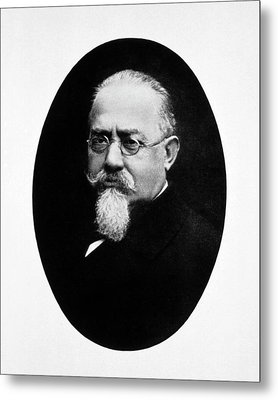 Cesare Lombroso Metal Print by National Library Of Medicine