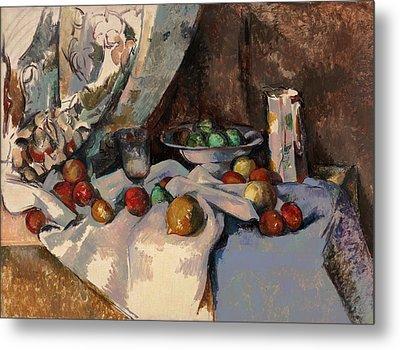 Cezanne Nature Morte Metal Print by Granger