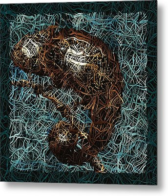 Chameleon - Fb0102b Metal Print by Variance Collections