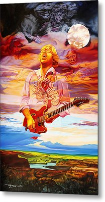 Channeling The Cosmic Goo At The Gorge Metal Print by Joshua Morton