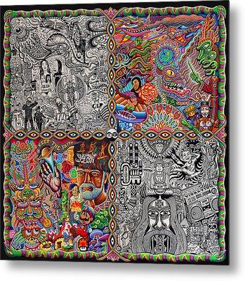Chaos Culture Jam Metal Print by Chris Dyer